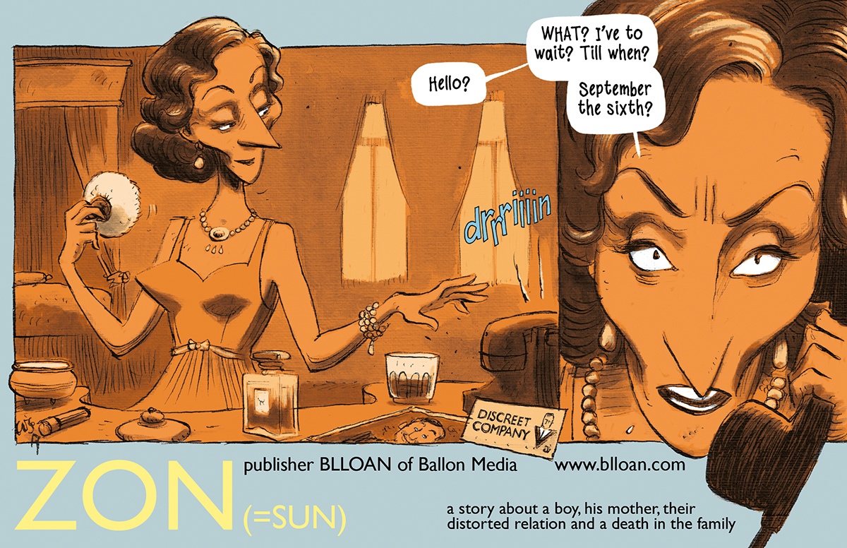 Release date new comic 'ZON'