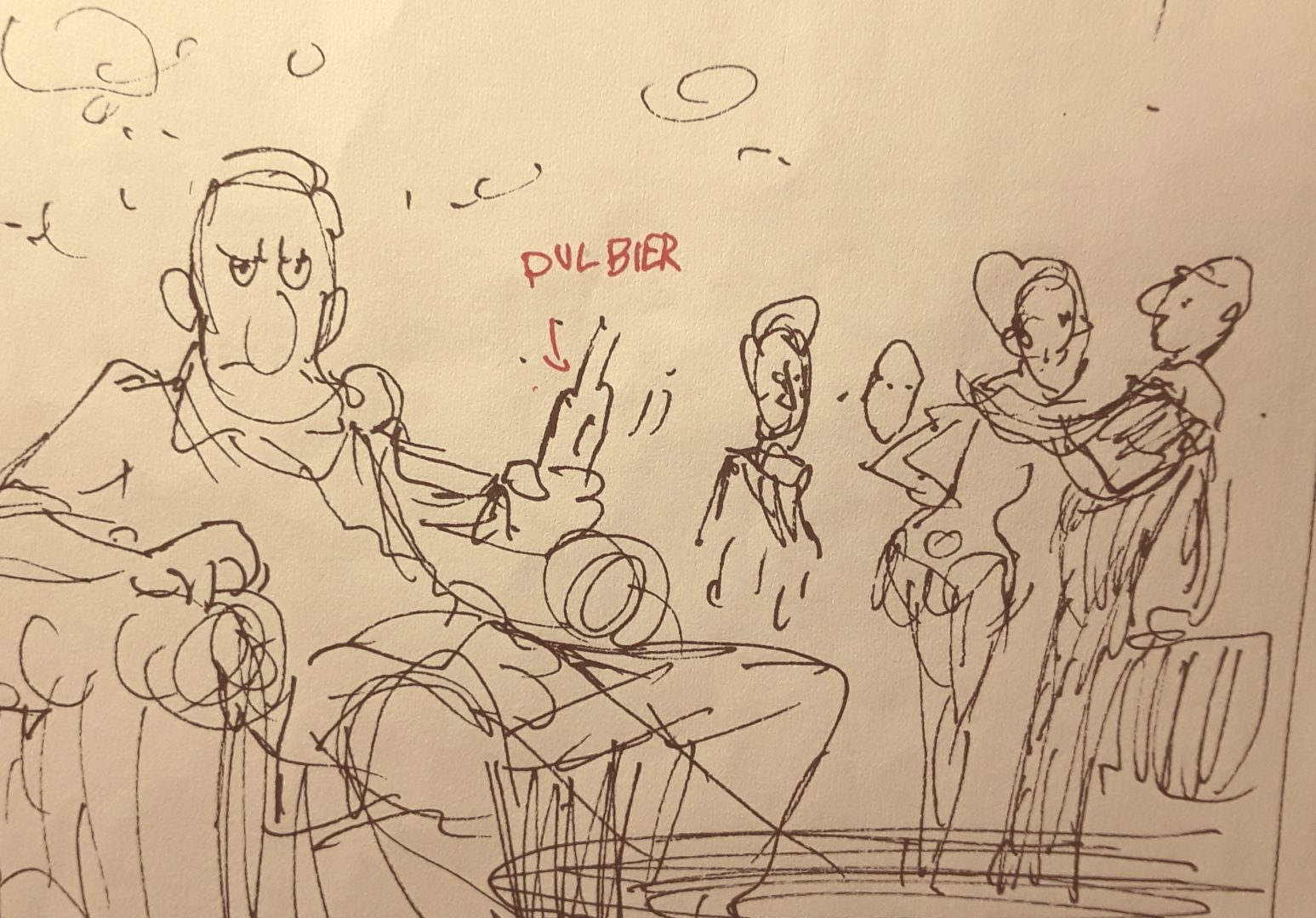 Enkele vroege schetsen ZON 2