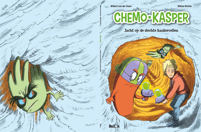 Chemo-Kasper te koop bij Vereniging Kinderkanker Nederland