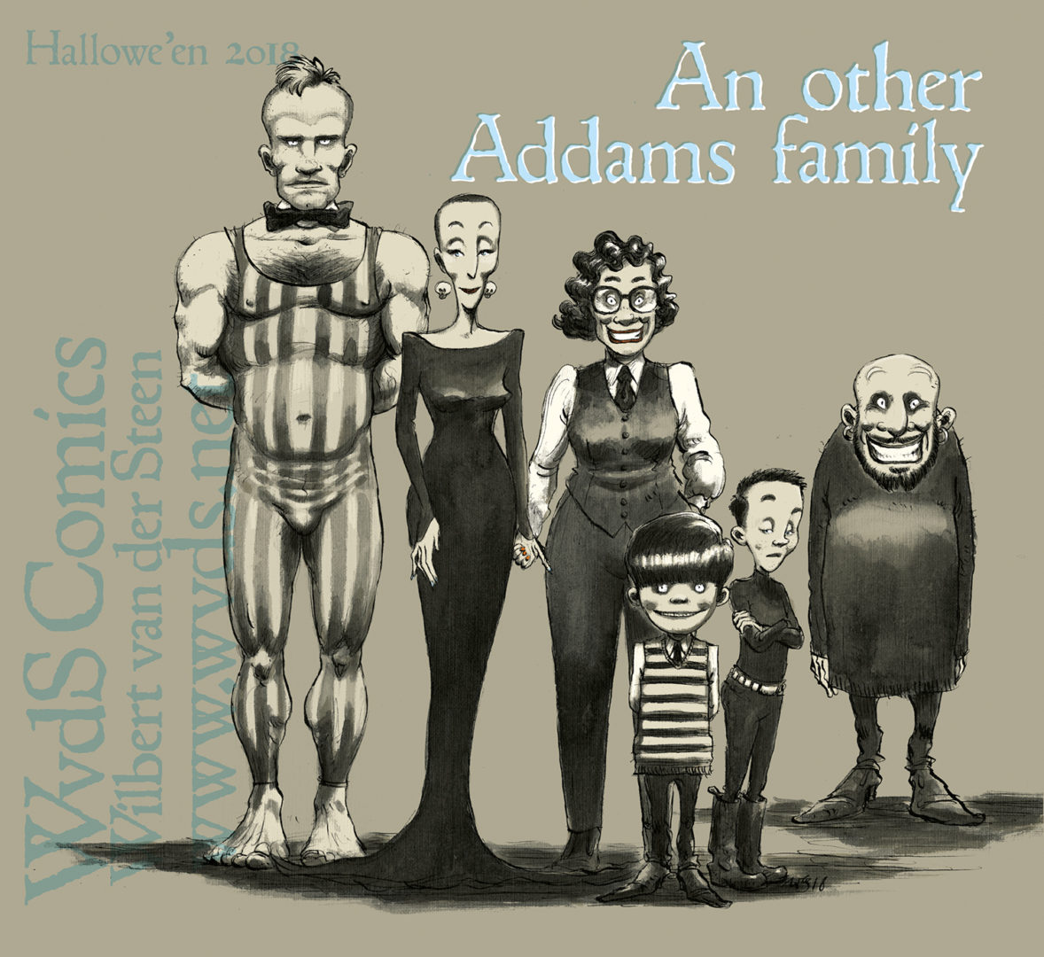 An other Addams Family. Hallowe'en 2018