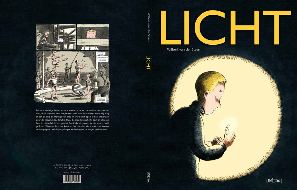 LICHT, comic book, graphic novel, stripboek, bande dessinée