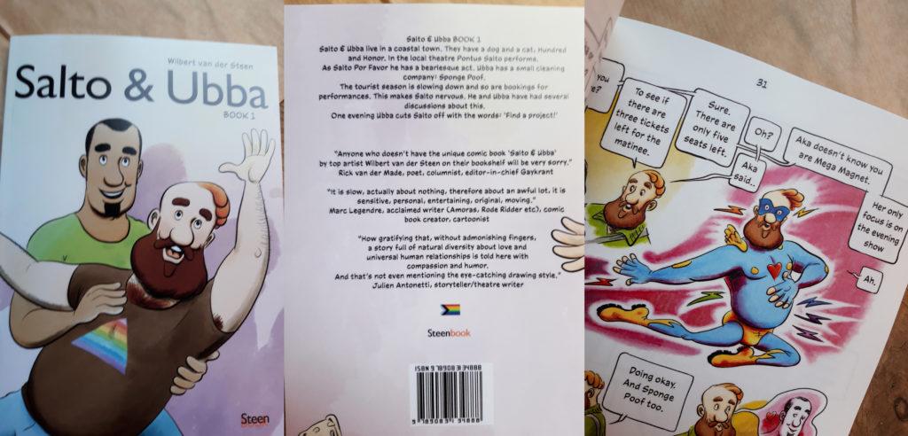 Order Salto & Ubba Book 1 as a Print On Demand at American Book Centre, Amsterdam