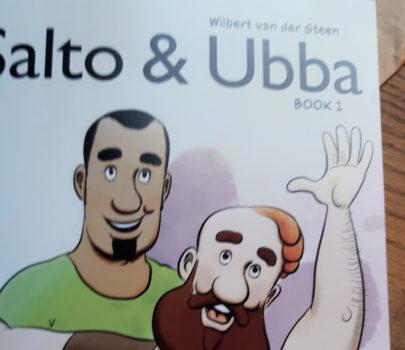 English Salto & Ubba Book 1 as a POD.